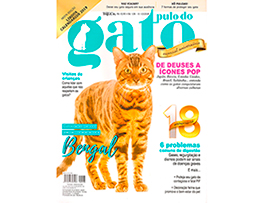 Play Bengal Tiger na capa da Revista Pulo do Gato